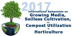 International Symposium on Growing Media, Soilless Cultivation, and Compost Utilization in Horticulture